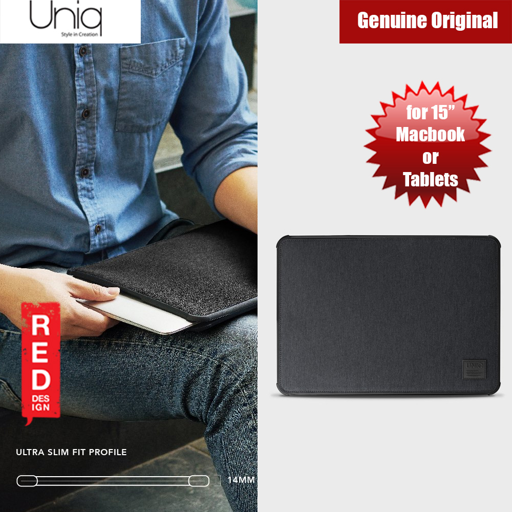 Picture of Uniq Dfender Bumper Case for Apple Macbook or Tablets  up to 15 inches (Black) Apple iPad 9.7 2017- Apple iPad 9.7 2017 Cases, Apple iPad 9.7 2017 Covers, iPad Cases and a wide selection of Apple iPad 9.7 2017 Accessories in Malaysia, Sabah, Sarawak and Singapore