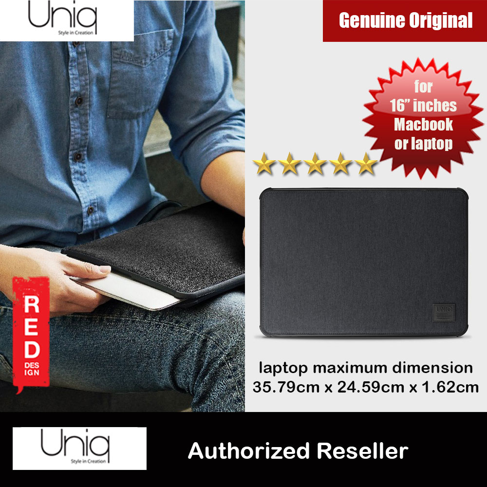 Picture of Uniq Dfender Bumper Case for Apple Macbook or Tablets  up to 16 inches (Black) Apple iPad 9.7 2017- Apple iPad 9.7 2017 Cases, Apple iPad 9.7 2017 Covers, iPad Cases and a wide selection of Apple iPad 9.7 2017 Accessories in Malaysia, Sabah, Sarawak and Singapore