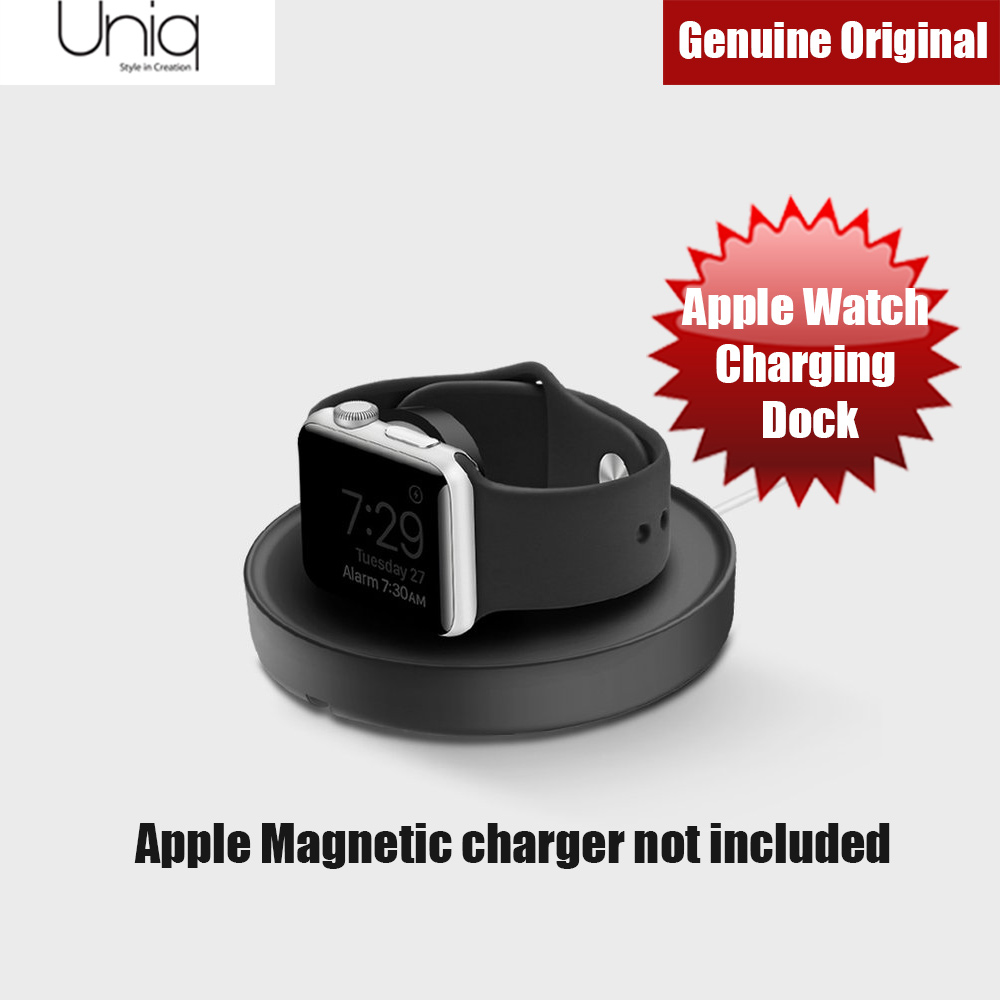 Picture of Uniq Dome Apple Watch Charging Dock (Black) Red Design- Red Design Cases, Red Design Covers, iPad Cases and a wide selection of Red Design Accessories in Malaysia, Sabah, Sarawak and Singapore