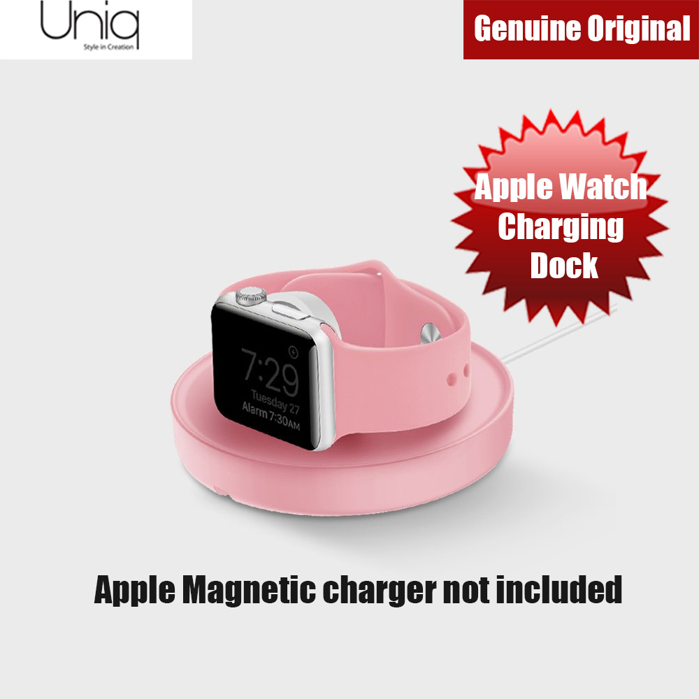 Picture of Uniq Dome Apple Watch Charging Dock (Pink) Red Design- Red Design Cases, Red Design Covers, iPad Cases and a wide selection of Red Design Accessories in Malaysia, Sabah, Sarawak and Singapore