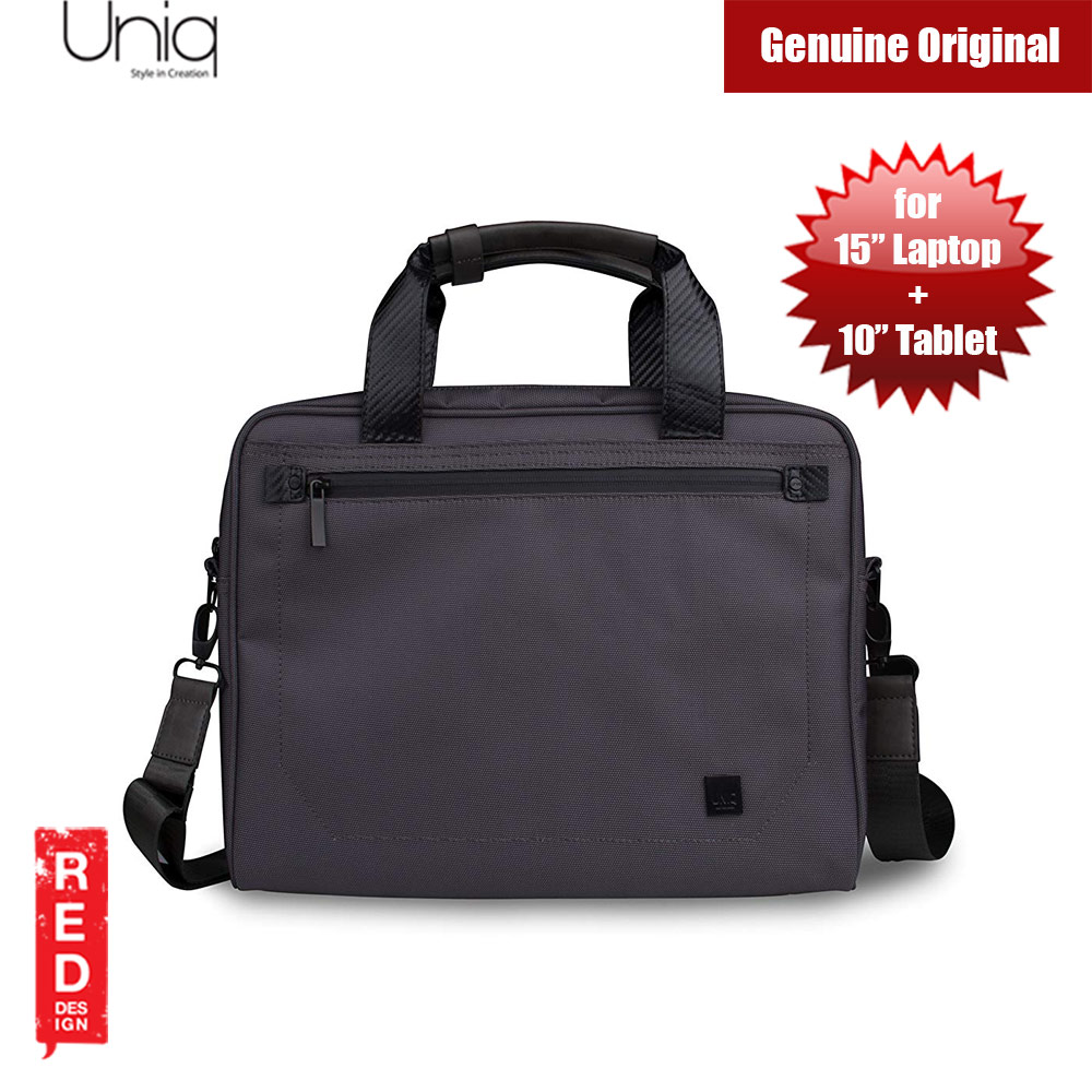 "Picture of Uniq Envoy Collection Water proof Travel Messenger Bag for 15"" Laptop & 10"" Tablet (Grey) Red Design- Red Design Cases, Red Design Covers, iPad Cases and a wide selection of Red Design Accessories in Malaysia, Sabah, Sarawak and Singapore"