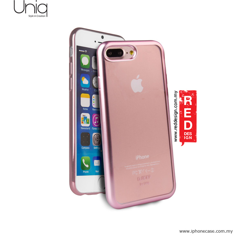 Picture of Uniq Glacier Frost Ultra Slim TPU Soft cover case for Apple iPhone 7 Plus iPhone 8 Plus 5.5 - Rose Gold Apple iPhone 8 Plus- Apple iPhone 8 Plus Cases, Apple iPhone 8 Plus Covers, iPad Cases and a wide selection of Apple iPhone 8 Plus Accessories in Malaysia, Sabah, Sarawak and Singapore