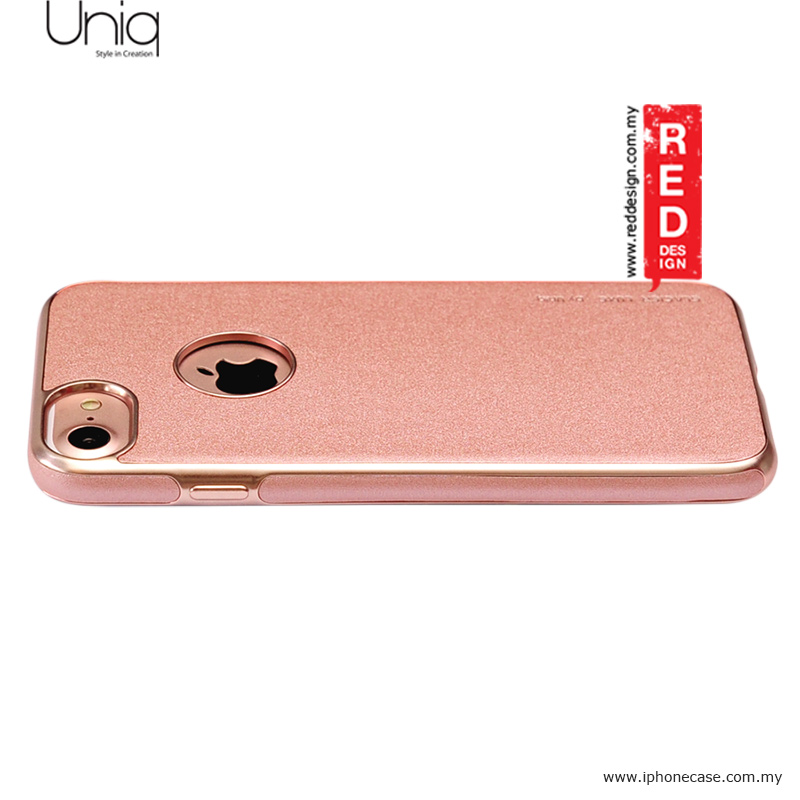 apple iphone 8 leather case rose gold