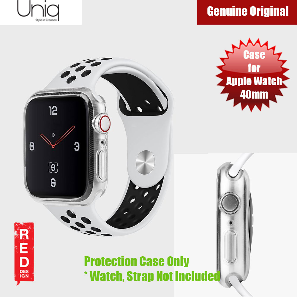 Picture of Uniq Glase Series Case for Apple Watch 40mm (Clear) Apple Watch 40mm- Apple Watch 40mm Cases, Apple Watch 40mm Covers, iPad Cases and a wide selection of Apple Watch 40mm Accessories in Malaysia, Sabah, Sarawak and Singapore