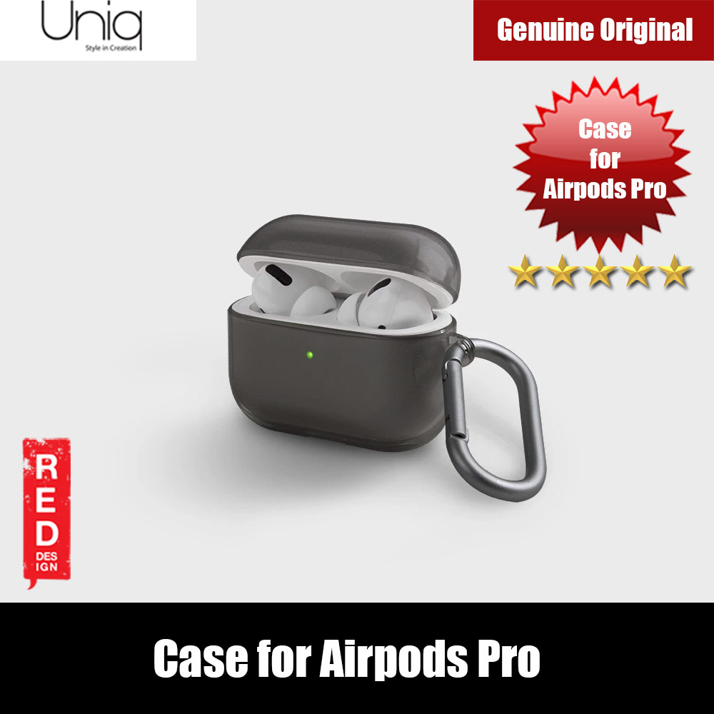Picture of Uniq Glase Drop Protection TPU Soft Case for Airpods Pro (Smoke) Apple Airpods Pro- Apple Airpods Pro Cases, Apple Airpods Pro Covers, iPad Cases and a wide selection of Apple Airpods Pro Accessories in Malaysia, Sabah, Sarawak and Singapore