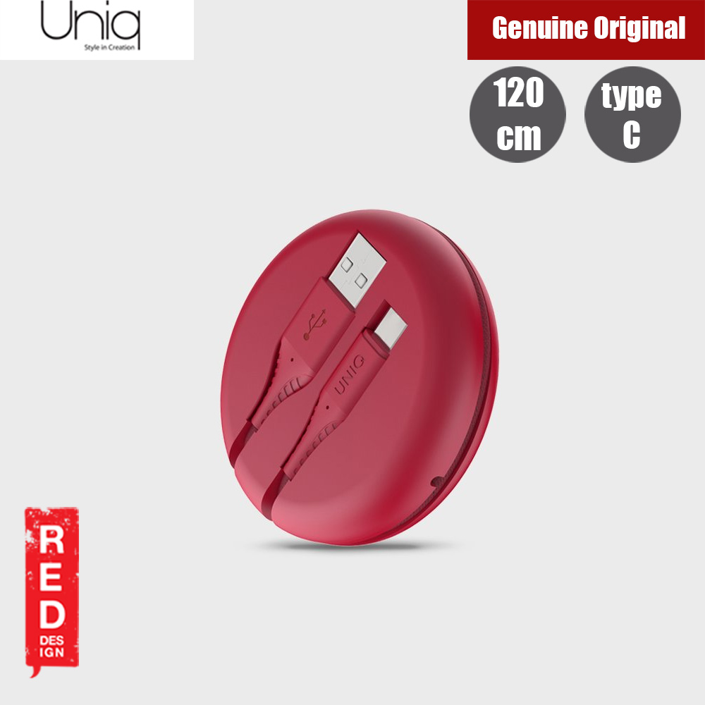 Picture of Uniq Halo 120cm Fast Charge Type C Cable with Organiser (Red) Red Design- Red Design Cases, Red Design Covers, iPad Cases and a wide selection of Red Design Accessories in Malaysia, Sabah, Sarawak and Singapore
