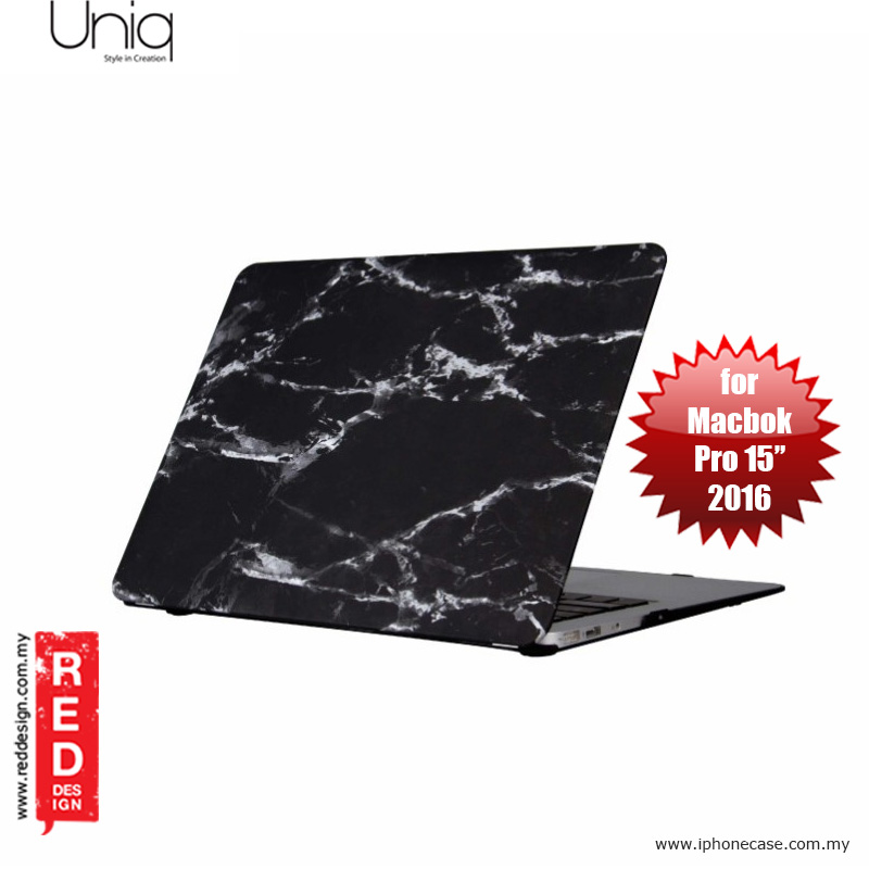 "Picture of Uniq Husk Pro Series Case for Apple Macbook Pro 15"" 2017 - Marble Black Apple MacBook Pro 15\"" 2016- Apple MacBook Pro 15\"" 2016 Cases, Apple MacBook Pro 15\"" 2016 Covers, iPad Cases and a wide selection of Apple MacBook Pro 15\"" 2016 Accessories in Malaysia, Sabah, Sarawak and Singapore"