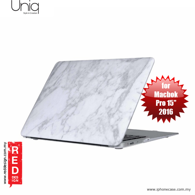 "Picture of Uniq Husk Pro Series Case for Apple Macbook Pro 15"" 2017 - Marble White Apple MacBook Pro 15\"" 2016- Apple MacBook Pro 15\"" 2016 Cases, Apple MacBook Pro 15\"" 2016 Covers, iPad Cases and a wide selection of Apple MacBook Pro 15\"" 2016 Accessories in Malaysia, Sabah, Sarawak and Singapore"