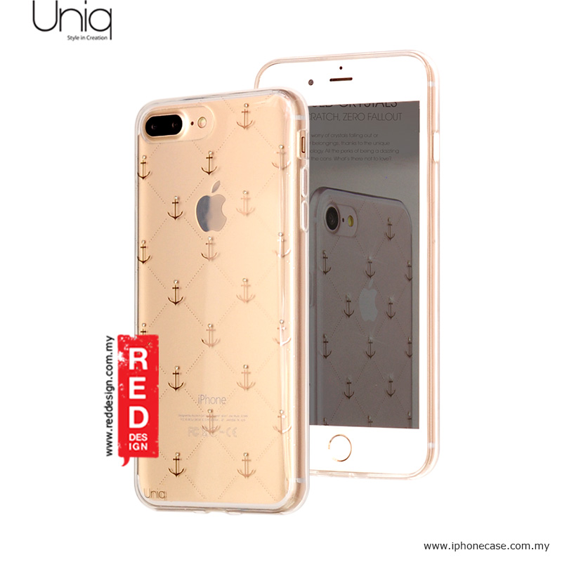 Picture of Uniq Astre Series Genuine Crystal Sof TPU Case for iPhone 7 Plus iPhone 8 Plus 5.5 - Anchor My Heart Apple iPhone 8 Plus- Apple iPhone 8 Plus Cases, Apple iPhone 8 Plus Covers, iPad Cases and a wide selection of Apple iPhone 8 Plus Accessories in Malaysia, Sabah, Sarawak and Singapore
