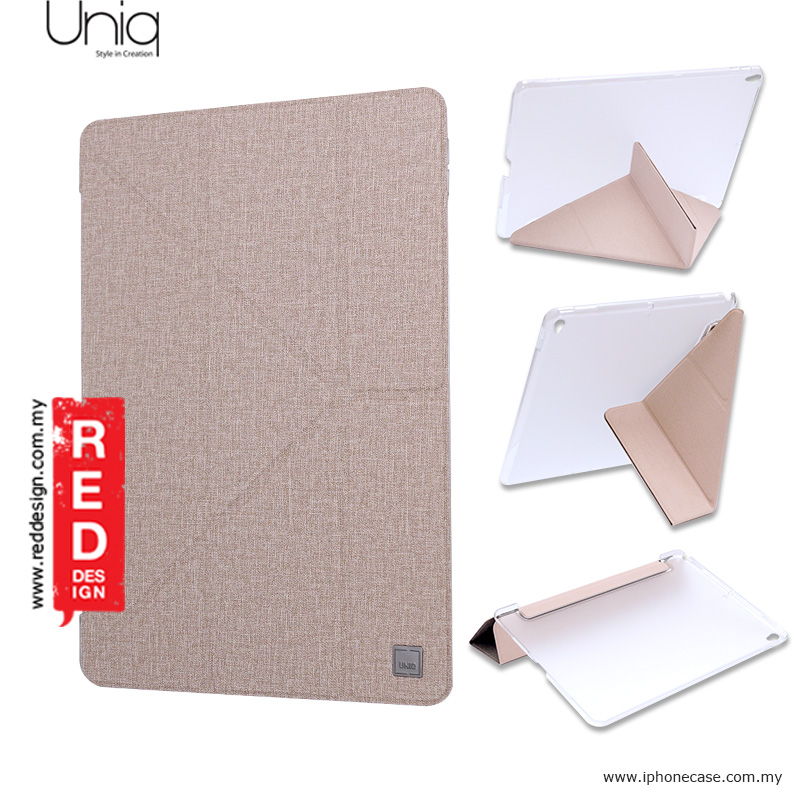 Picture of Uniq Kanvas Series Easy Folding Case for Apple iPad Pro 10.5 2017 - Beige Malaysia Singapore: Apple iPad Pro 10.5 2017- Apple iPad Pro 10.5 2017 Cases, Apple iPad Pro 10.5 2017 Covers, iPad Cases and a wide selection of Apple iPad Pro 10.5 2017 Accessories in Malaysia, Sabah, Sarawak and Singapore
