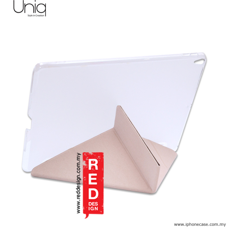 Picture of Apple iPad Pro 10.5 2017 Case | Uniq Kanvas Series Easy Folding Case for Apple iPad Pro 10.5 2017 - Beige