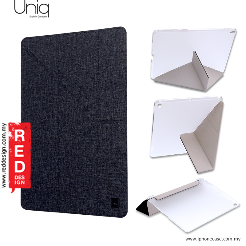 Picture of Apple iPad Pro 10.5 2017 Case | Uniq Kanvas Series Easy Folding Case for Apple iPad Pro 10.5 2017 - Black