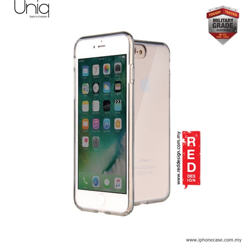 Picture of Uniq Lifepro Xtreme Military Grade Protection Case for Apple iPhone 7 Plus iPhone 8 Plus 5.5 - Clear Apple iPhone 8 Plus- Apple iPhone 8 Plus Cases, Apple iPhone 8 Plus Covers, iPad Cases and a wide selection of Apple iPhone 8 Plus Accessories in Malaysia, Sabah, Sarawak and Singapore