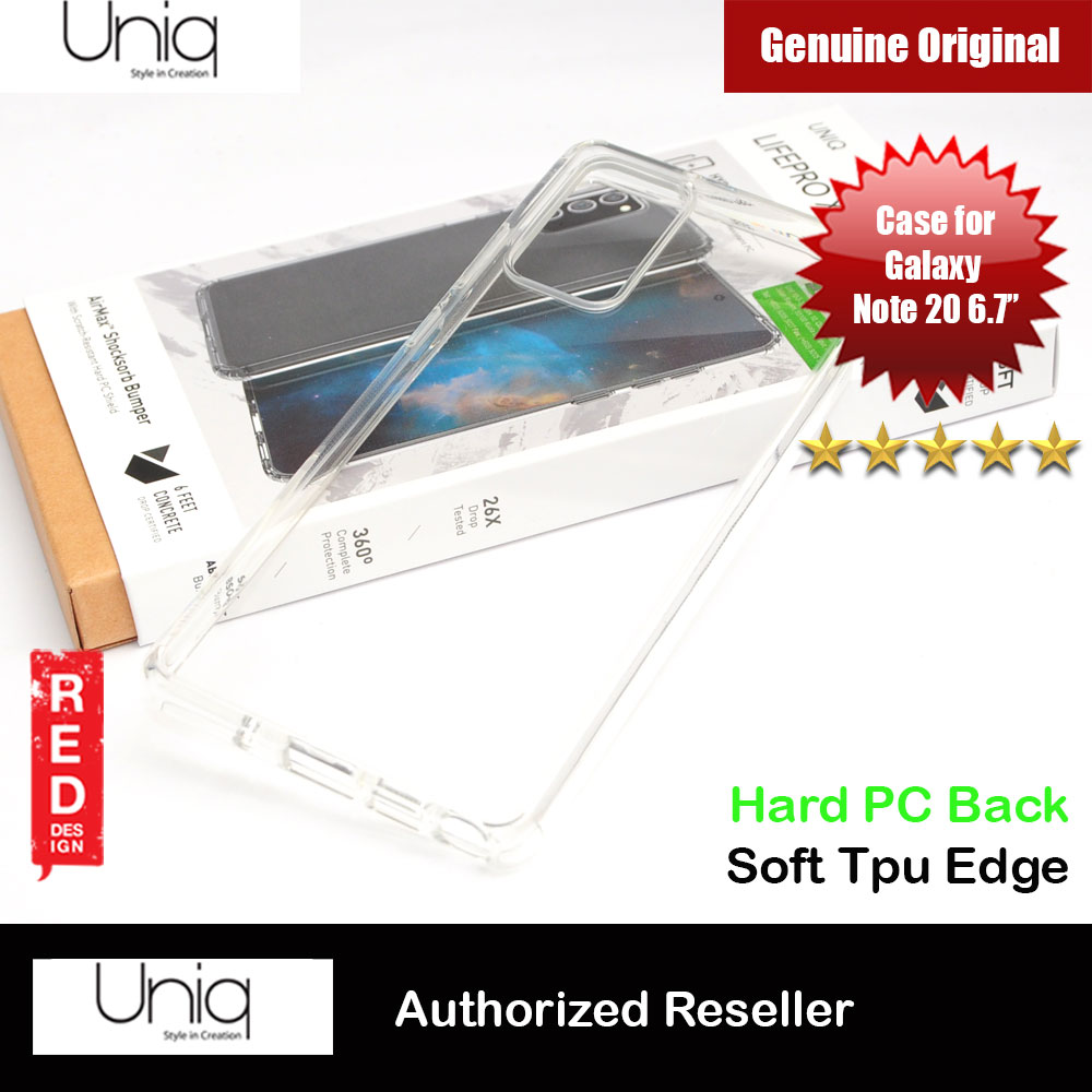 Picture of Uniq Lifepro Extreme Protection Case for Samsung Galaxy Note 20 6.7 (Clear) Samsung Galaxy Note 20- Samsung Galaxy Note 20 Cases, Samsung Galaxy Note 20 Covers, iPad Cases and a wide selection of Samsung Galaxy Note 20 Accessories in Malaysia, Sabah, Sarawak and Singapore