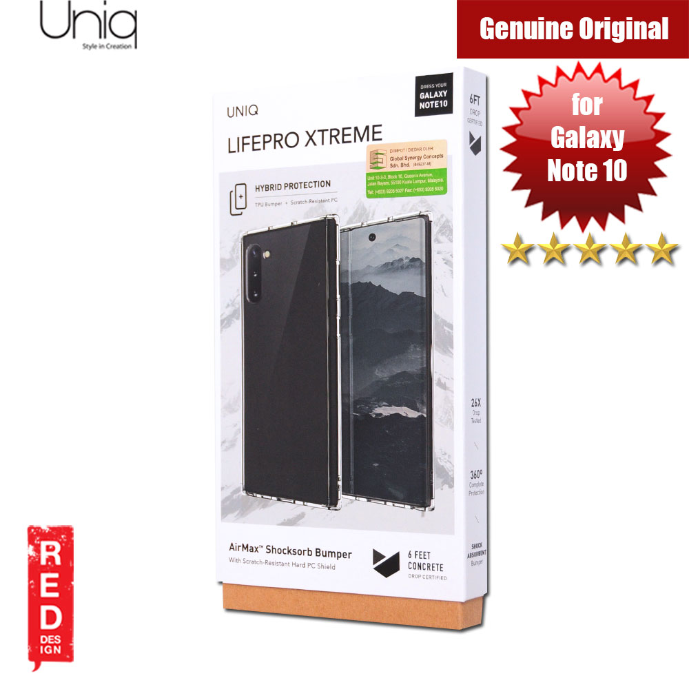 Picture of Uniq Lifepro Extreme Protection Case for Samsung Galaxy Note 10 (Clear) Samsung Galaxy Note 10- Samsung Galaxy Note 10 Cases, Samsung Galaxy Note 10 Covers, iPad Cases and a wide selection of Samsung Galaxy Note 10 Accessories in Malaysia, Sabah, Sarawak and Singapore