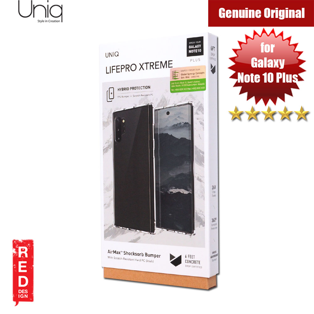 Picture of Uniq Lifepro Extreme Protection Case for Samsung Galaxy Note 10 Plus (Clear) Samsung Galaxy Note 10 Plus- Samsung Galaxy Note 10 Plus Cases, Samsung Galaxy Note 10 Plus Covers, iPad Cases and a wide selection of Samsung Galaxy Note 10 Plus Accessories in Malaysia, Sabah, Sarawak and Singapore