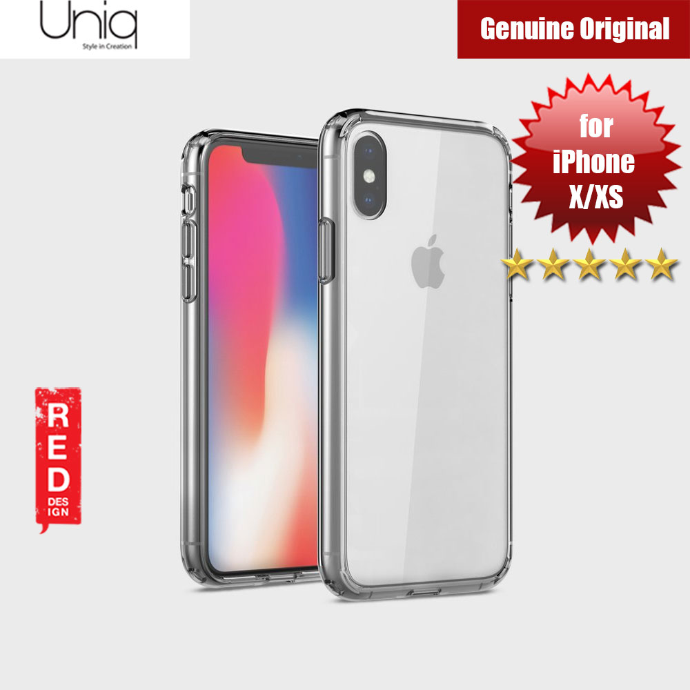 Picture of Uniq Lifepro Extreme Protection Case for Apple iPhone XS (Clear) Apple iPhone XS- Apple iPhone XS Cases, Apple iPhone XS Covers, iPad Cases and a wide selection of Apple iPhone XS Accessories in Malaysia, Sabah, Sarawak and Singapore