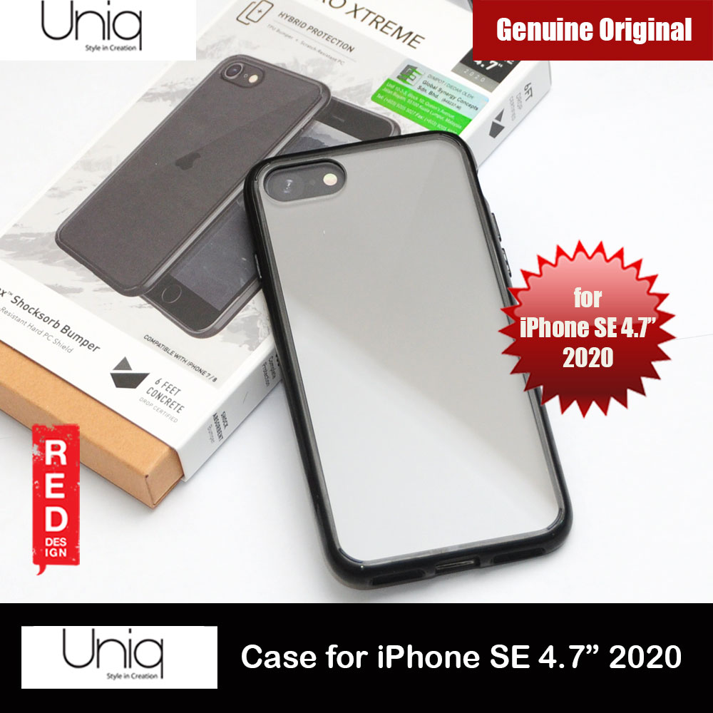 Picture of Uniq Lifepro Xtreme Ultra Protection Hybrid Case for Apple iPhone SE 4.7 2020 (Glossy Black) Apple iPhone SE 2020- Apple iPhone SE 2020 Cases, Apple iPhone SE 2020 Covers, iPad Cases and a wide selection of Apple iPhone SE 2020 Accessories in Malaysia, Sabah, Sarawak and Singapore
