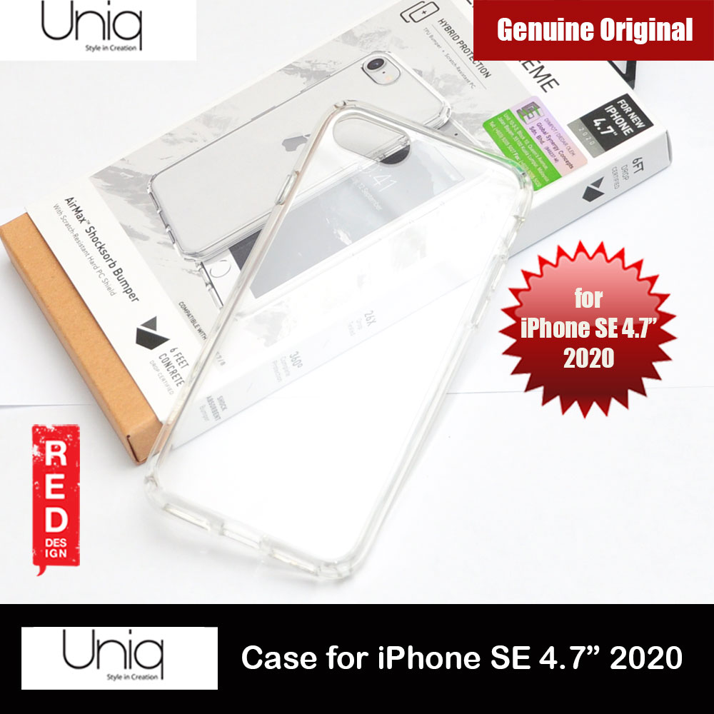 Picture of Uniq Lifepro Xtreme Ultra Protection Hybrid Case for Apple iPhone SE 4.7 2020 (Crystal Clear) Apple iPhone SE 2020- Apple iPhone SE 2020 Cases, Apple iPhone SE 2020 Covers, iPad Cases and a wide selection of Apple iPhone SE 2020 Accessories in Malaysia, Sabah, Sarawak and Singapore