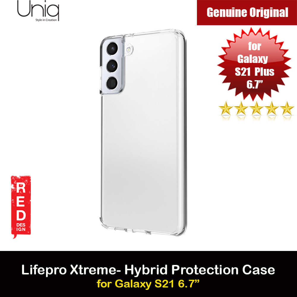 Picture of Uniq Lifepro Xtreme Ultra Protection Hybrid Case for Samsung Galaxy S21 Plus 6.7 (Crystal Clear) Samsung Galaxy S21 Plus 6.7- Samsung Galaxy S21 Plus 6.7 Cases, Samsung Galaxy S21 Plus 6.7 Covers, iPad Cases and a wide selection of Samsung Galaxy S21 Plus 6.7 Accessories in Malaysia, Sabah, Sarawak and Singapore