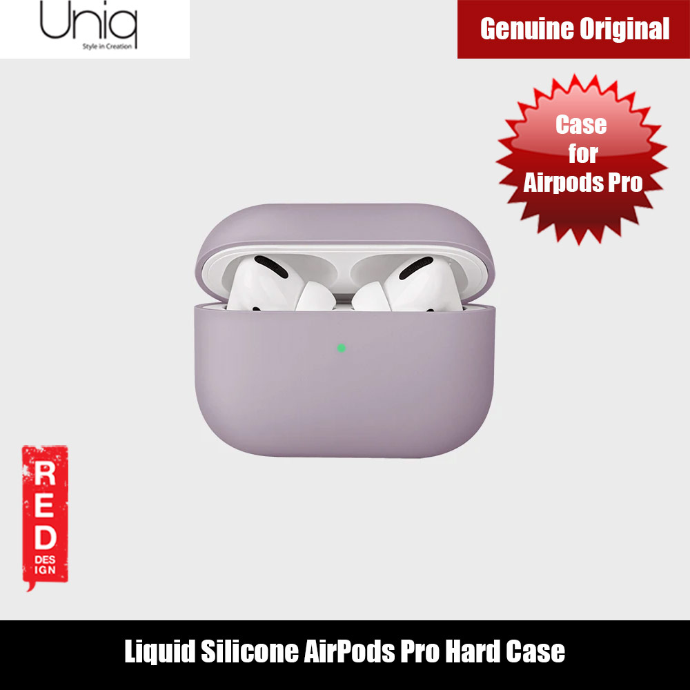 Picture of Uniq Lino Thin Drop Protection Liquid Silicone Hard Case for Airpods Pro (Purple Lilac) Apple Airpods Pro- Apple Airpods Pro Cases, Apple Airpods Pro Covers, iPad Cases and a wide selection of Apple Airpods Pro Accessories in Malaysia, Sabah, Sarawak and Singapore