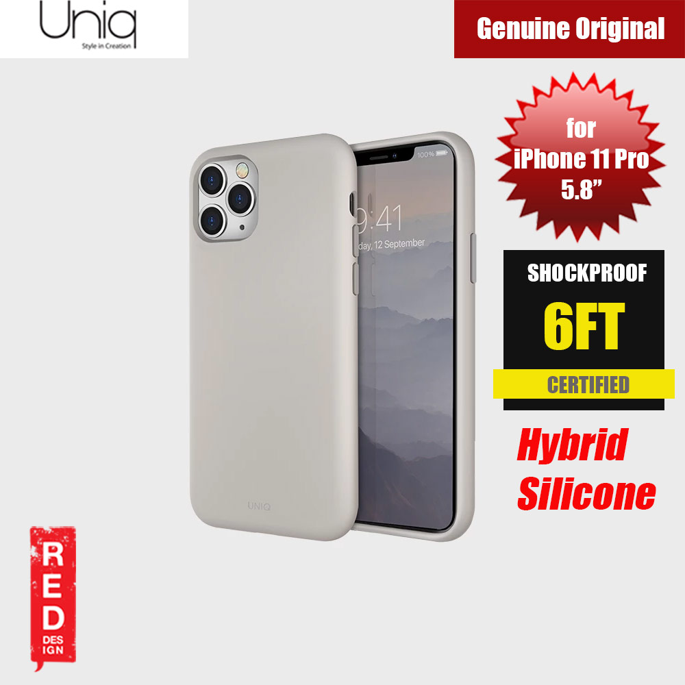 Picture of Uniq Lino Hue Series Premium Liquid Silicone Case for Apple iPhone 11 Pro 5.8  (Beige Ivory) Apple iPhone 11 Pro 5.8- Apple iPhone 11 Pro 5.8 Cases, Apple iPhone 11 Pro 5.8 Covers, iPad Cases and a wide selection of Apple iPhone 11 Pro 5.8 Accessories in Malaysia, Sabah, Sarawak and Singapore