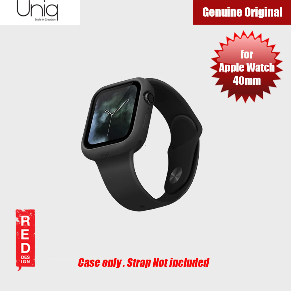 Picture of Uniq Lino Series Premium Liquid Silicone Case for Apple Watch Series 4 40mm (Black) Apple Watch 40mm- Apple Watch 40mm Cases, Apple Watch 40mm Covers, iPad Cases and a wide selection of Apple Watch 40mm Accessories in Malaysia, Sabah, Sarawak and Singapore