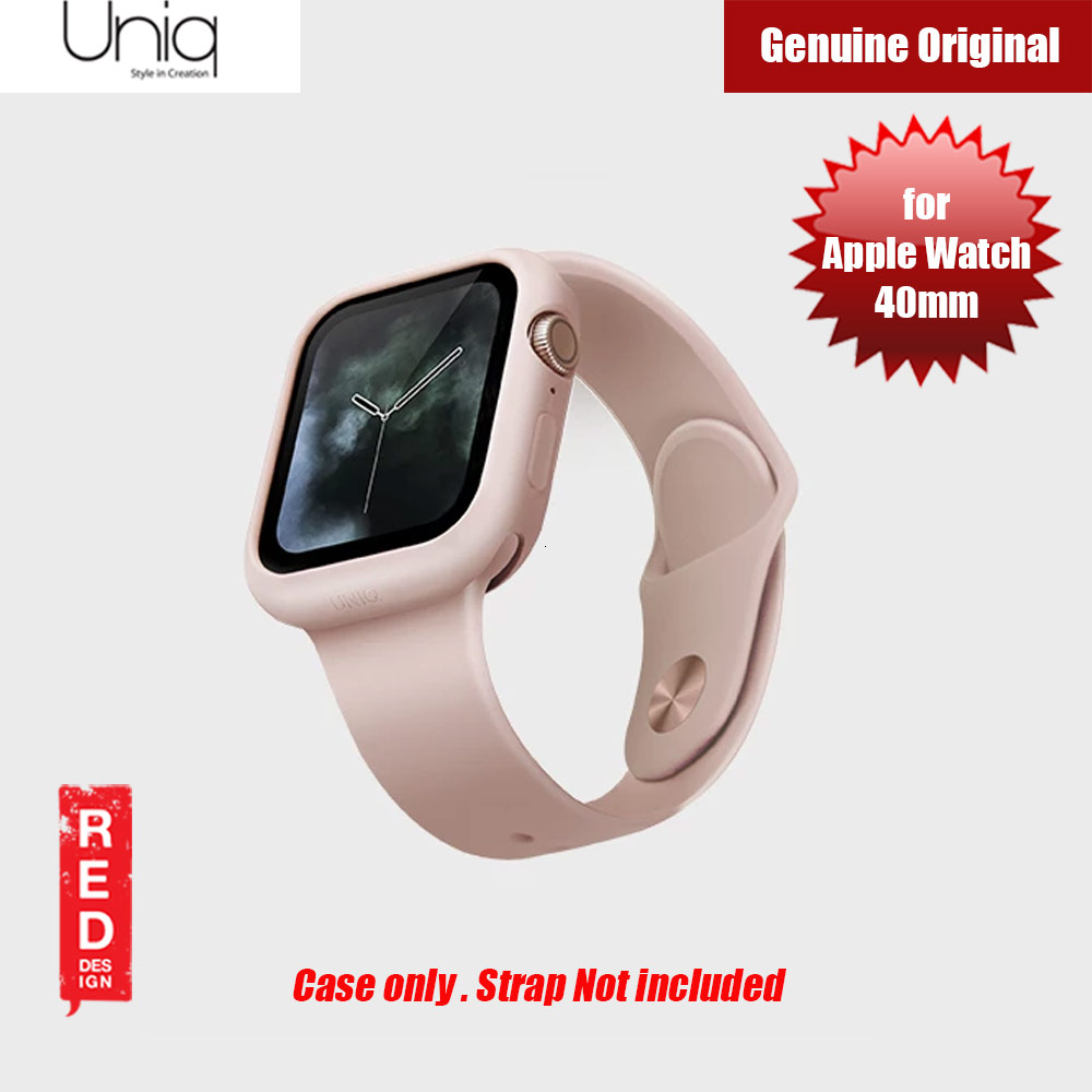 Picture of Uniq Lino Series Premium Liquid Silicone Case for Apple Watch Series 4 40mm (Pink) Apple Watch 40mm- Apple Watch 40mm Cases, Apple Watch 40mm Covers, iPad Cases and a wide selection of Apple Watch 40mm Accessories in Malaysia, Sabah, Sarawak and Singapore