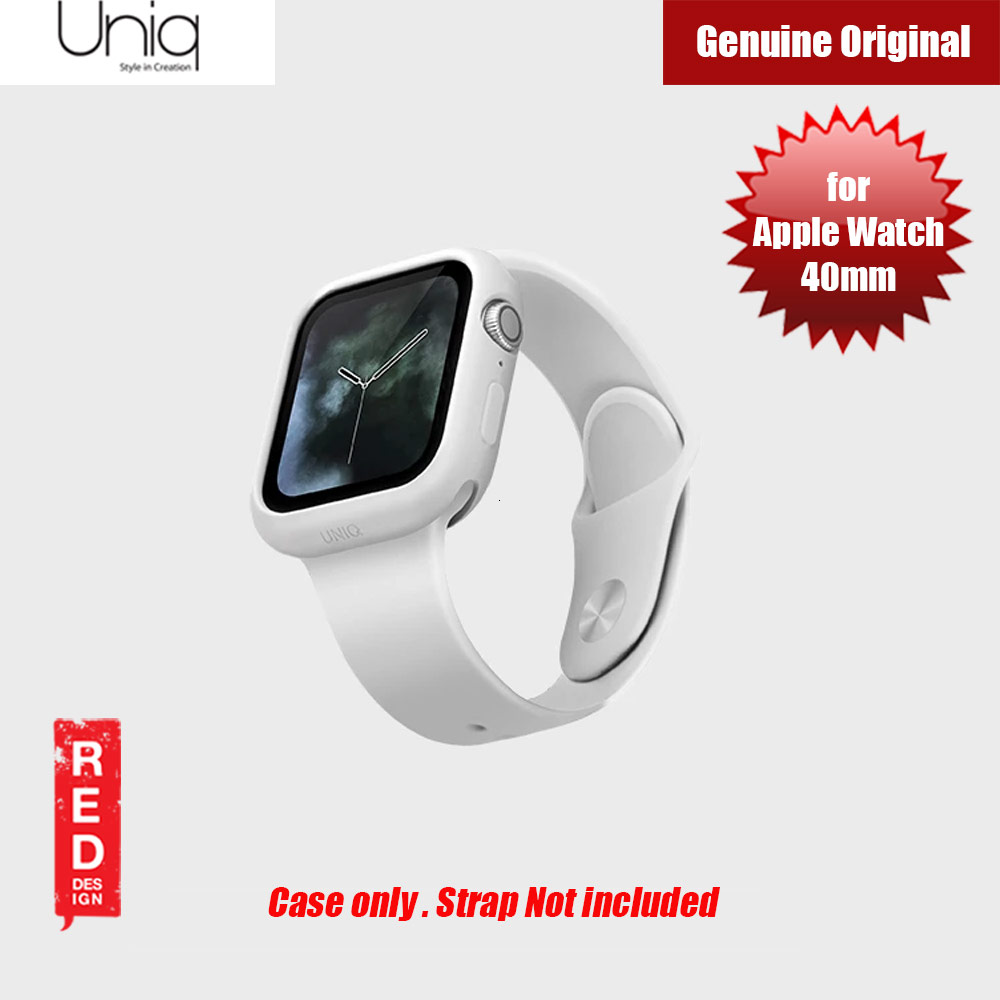 Picture of Uniq Lino Series Premium Liquid Silicone Case for Apple Watch Series 4 40mm (White) Apple Watch 40mm- Apple Watch 40mm Cases, Apple Watch 40mm Covers, iPad Cases and a wide selection of Apple Watch 40mm Accessories in Malaysia, Sabah, Sarawak and Singapore