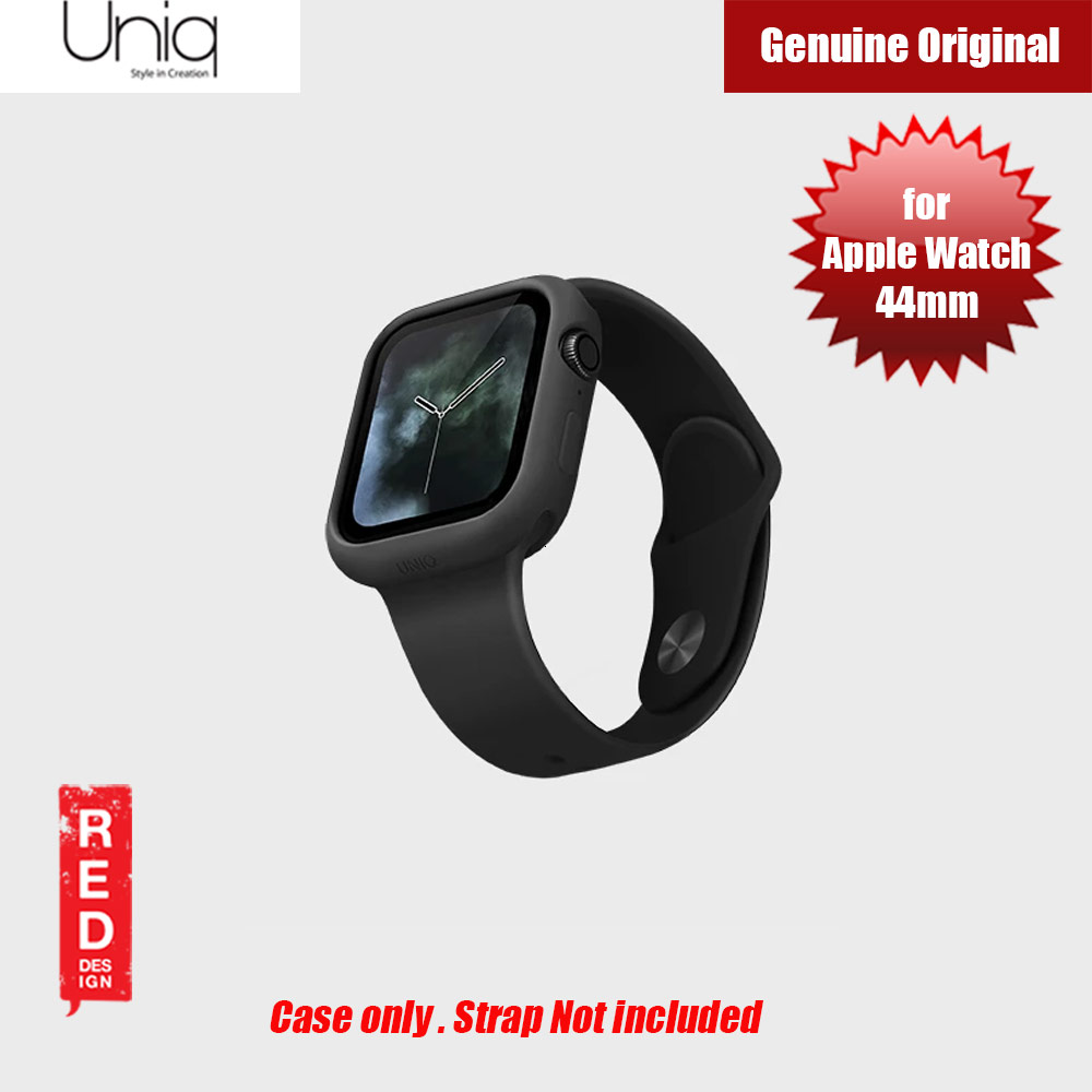 Picture of Uniq Lino Series Premium Liquid Silicone Case for Apple Watch Series 4 44mm (Black) Apple Watch 44mm- Apple Watch 44mm Cases, Apple Watch 44mm Covers, iPad Cases and a wide selection of Apple Watch 44mm Accessories in Malaysia, Sabah, Sarawak and Singapore