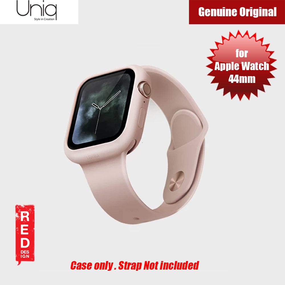 Picture of Uniq Lino Series Premium Liquid Silicone Case for Apple Watch Series 4 44mm (Pink) Apple Watch 44mm- Apple Watch 44mm Cases, Apple Watch 44mm Covers, iPad Cases and a wide selection of Apple Watch 44mm Accessories in Malaysia, Sabah, Sarawak and Singapore
