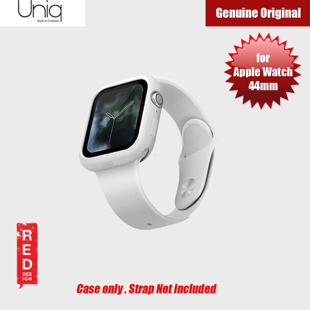 Picture of Uniq Lino Series Premium Liquid Silicone Case for Apple Watch Series 4 44mm (White) Apple Watch 44mm- Apple Watch 44mm Cases, Apple Watch 44mm Covers, iPad Cases and a wide selection of Apple Watch 44mm Accessories in Malaysia, Sabah, Sarawak and Singapore