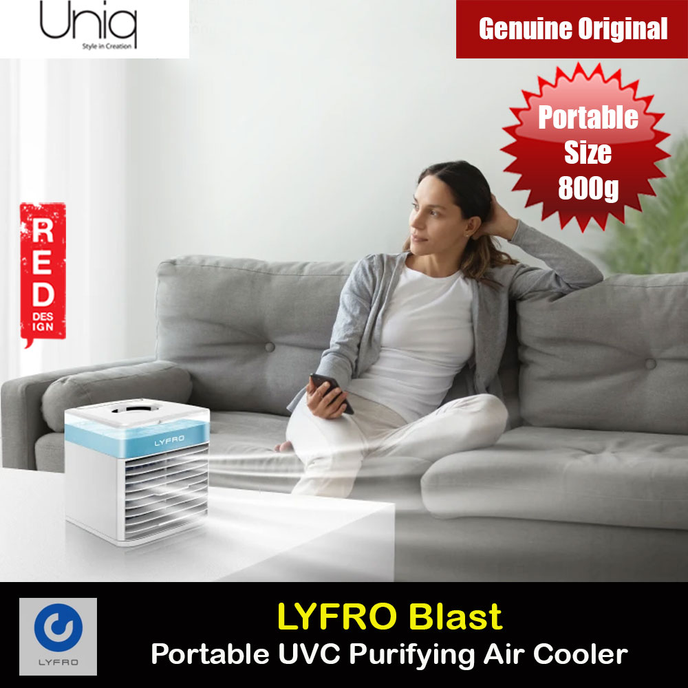 Picture of Uniq LYFRO BLAST Portable UVC Purifying Air Cooler Red Design- Red Design Cases, Red Design Covers, iPad Cases and a wide selection of Red Design Accessories in Malaysia, Sabah, Sarawak and Singapore