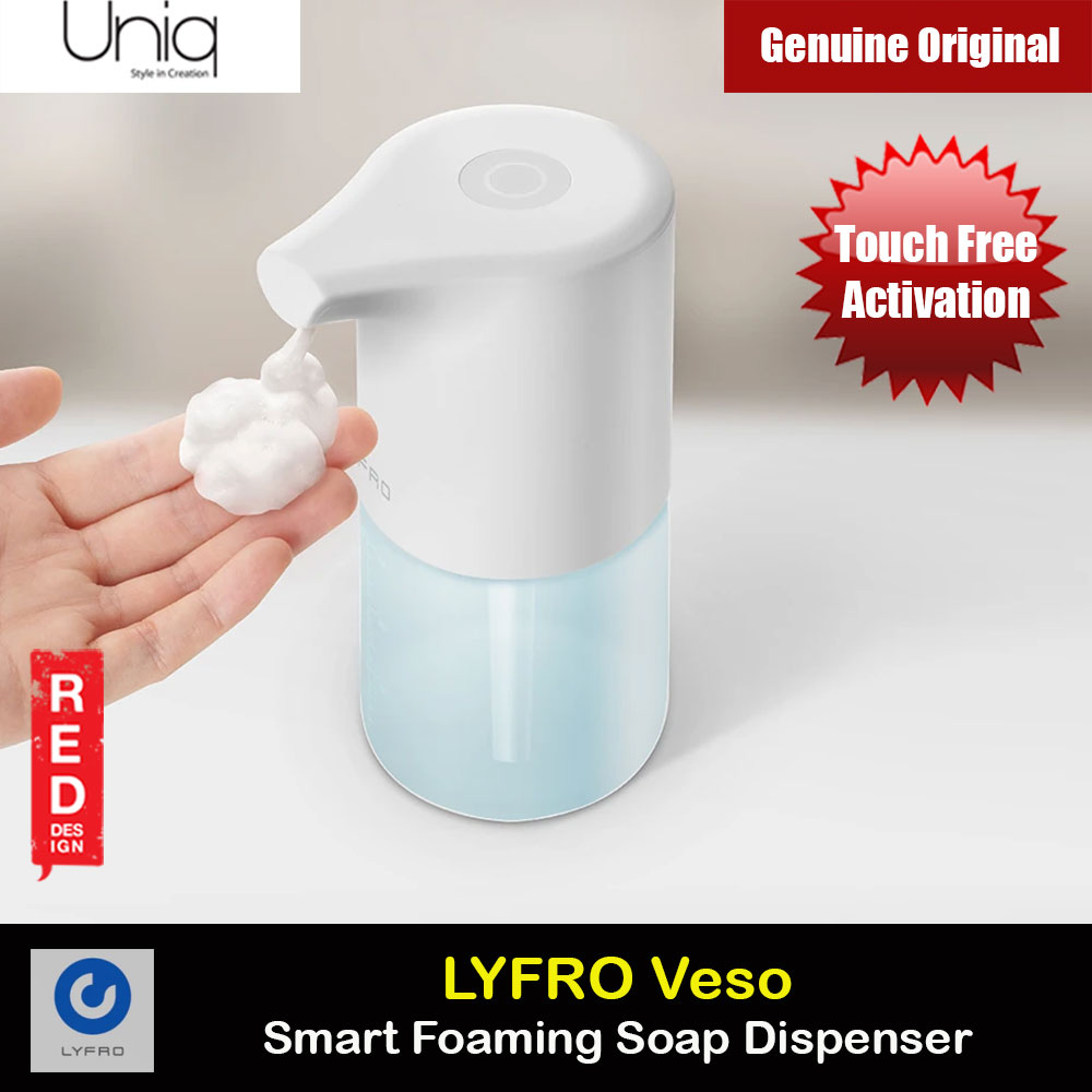 Picture of Uniq LYFRO Veso Smart Foaming Soap Dispenser Touch Free Soap Dispenser Red Design- Red Design Cases, Red Design Covers, iPad Cases and a wide selection of Red Design Accessories in Malaysia, Sabah, Sarawak and Singapore