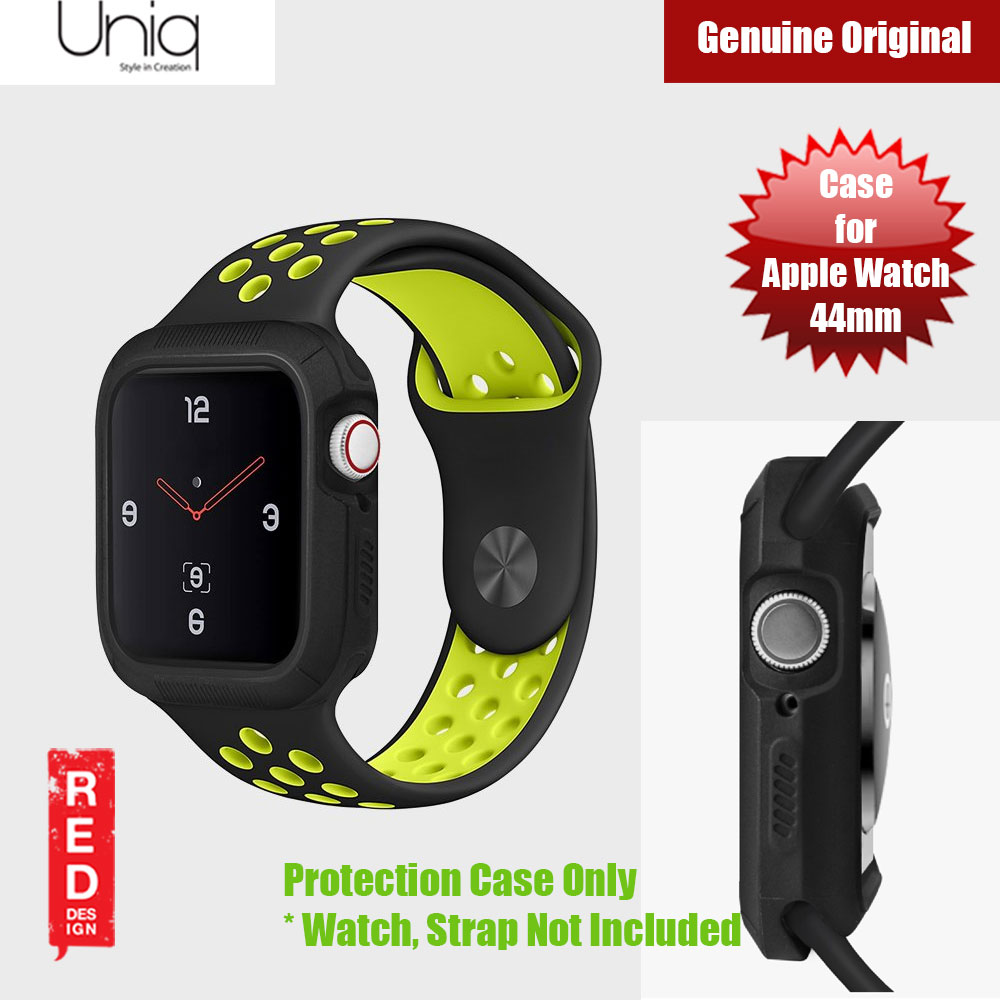 Picture of Uniq Proteger Series Case for Apple Watch 44mm (Black) Apple Watch 44mm- Apple Watch 44mm Cases, Apple Watch 44mm Covers, iPad Cases and a wide selection of Apple Watch 44mm Accessories in Malaysia, Sabah, Sarawak and Singapore