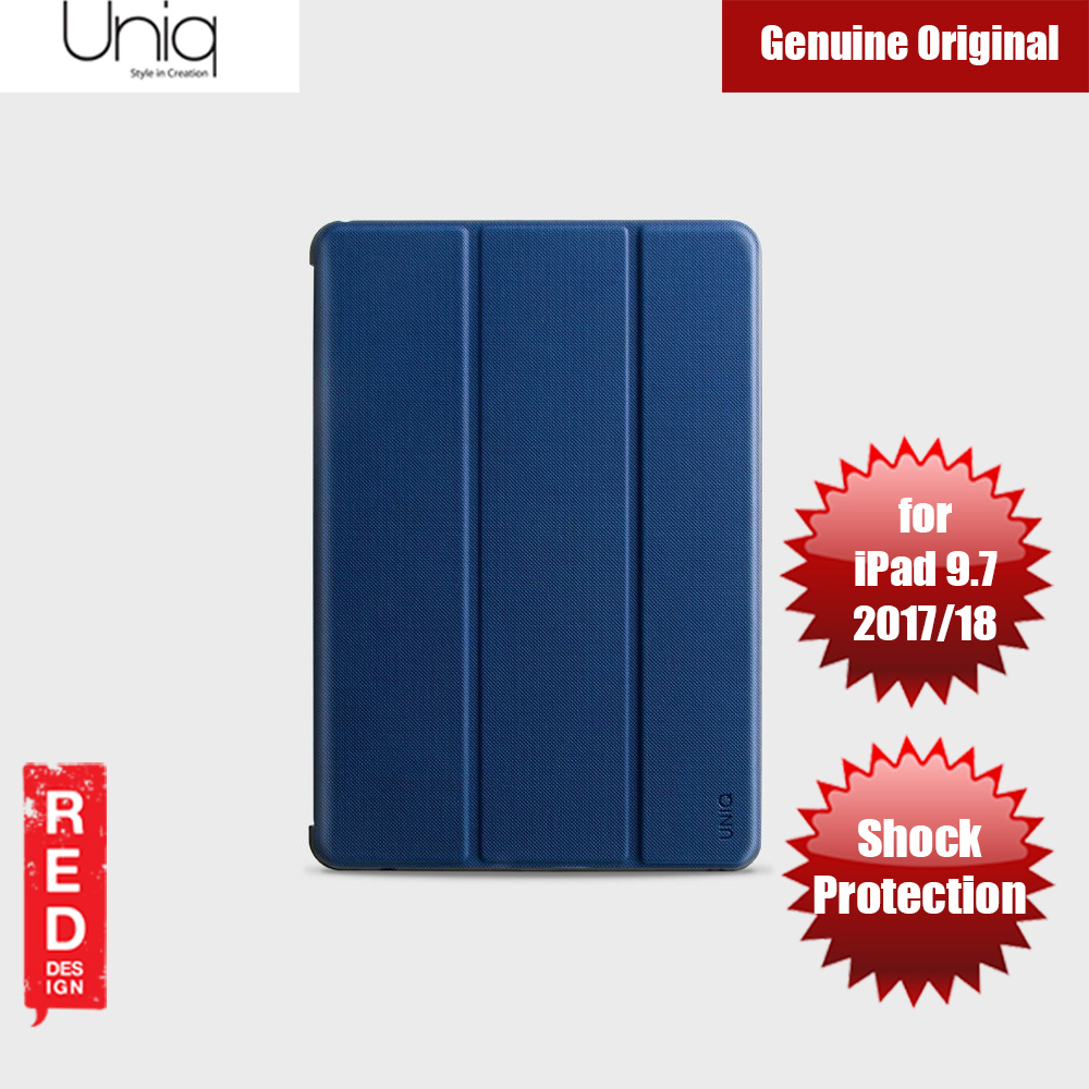 Picture of Uniq Rigor Anti Shock Impact Protection Case with Stylus Holder for Apple iPad 9.7 2017 2018 (Blue) Apple iPad 9.7 2017- Apple iPad 9.7 2017 Cases, Apple iPad 9.7 2017 Covers, iPad Cases and a wide selection of Apple iPad 9.7 2017 Accessories in Malaysia, Sabah, Sarawak and Singapore