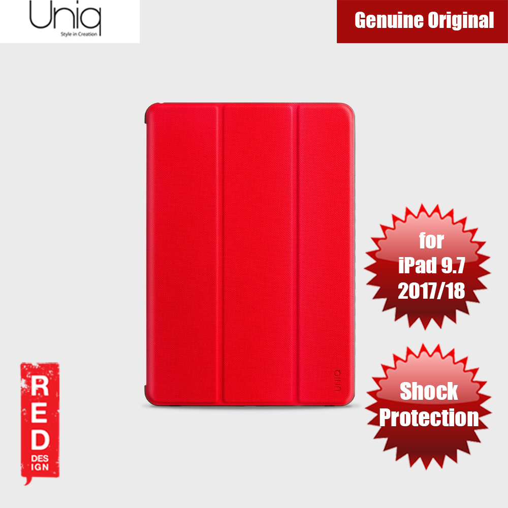 Picture of Uniq Rigor Anti Shock Impact Protection Case with Stylus Holder for Apple iPad 9.7 2017 2018 (Red) Apple iPad 9.7 2018- Apple iPad 9.7 2018 Cases, Apple iPad 9.7 2018 Covers, iPad Cases and a wide selection of Apple iPad 9.7 2018 Accessories in Malaysia, Sabah, Sarawak and Singapore