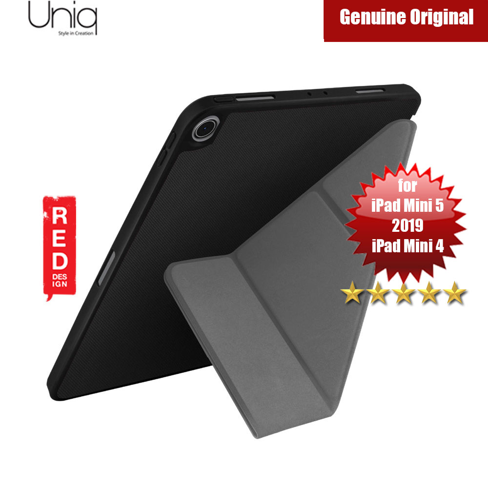 Picture of Uniq Transforma Rigor for Apple iPad Mini 4 iPad Mini 5 2019 (Black) Apple iPad Mini 4- Apple iPad Mini 4 Cases, Apple iPad Mini 4 Covers, iPad Cases and a wide selection of Apple iPad Mini 4 Accessories in Malaysia, Sabah, Sarawak and Singapore