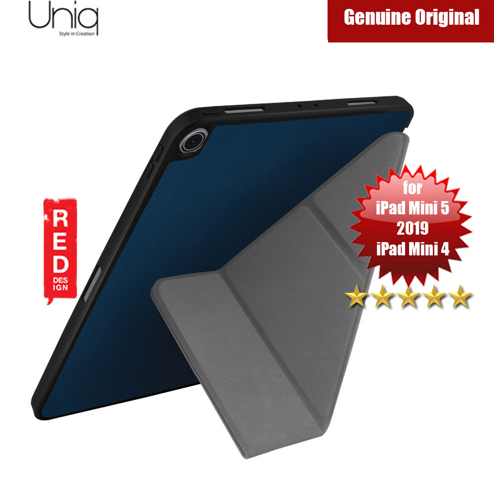 Picture of Uniq Transforma Rigor for Apple iPad Mini 4 iPad Mini 5 2019 (Blue) Apple iPad Mini 5 2019- Apple iPad Mini 5 2019 Cases, Apple iPad Mini 5 2019 Covers, iPad Cases and a wide selection of Apple iPad Mini 5 2019 Accessories in Malaysia, Sabah, Sarawak and Singapore