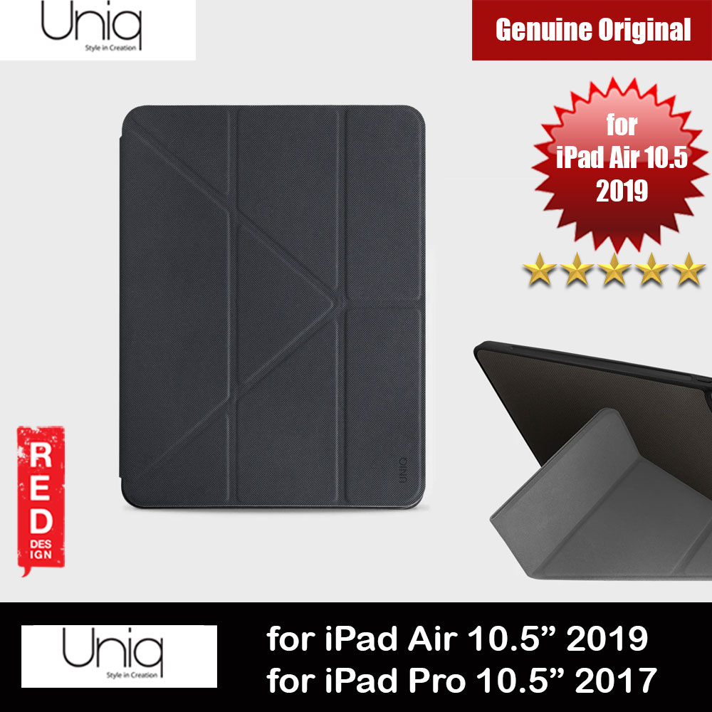 Picture of Uniq Rigor Anti Shock Impact Protection Case with Stylus Holder for Apple iPad 10.5 2019 iPad Pro 10.5 2017 (Black) Apple iPad Air 3rd Gen 10.5 2019- Apple iPad Air 3rd Gen 10.5 2019 Cases, Apple iPad Air 3rd Gen 10.5 2019 Covers, iPad Cases and a wide selection of Apple iPad Air 3rd Gen 10.5 2019 Accessories in Malaysia, Sabah, Sarawak and Singapore