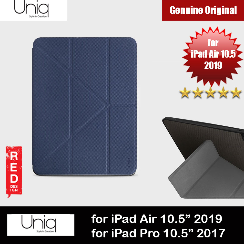 Picture of Uniq Rigor Anti Shock Impact Protection Case with Stylus Holder for Apple iPad 10.5 2019 iPad Pro 10.5 2017 (Blue) Apple iPad Pro 10.5 2017- Apple iPad Pro 10.5 2017 Cases, Apple iPad Pro 10.5 2017 Covers, iPad Cases and a wide selection of Apple iPad Pro 10.5 2017 Accessories in Malaysia, Sabah, Sarawak and Singapore