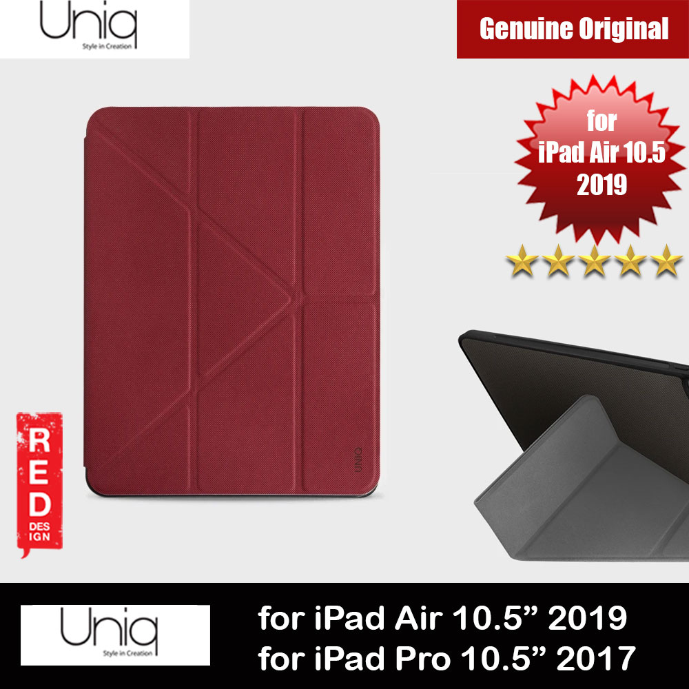 Picture of Uniq Rigor Anti Shock Impact Protection Case with Stylus Holder for Apple iPad 10.5 2019 iPad Pro 10.5 2017 (Red) Apple iPad Pro 10.5 2017- Apple iPad Pro 10.5 2017 Cases, Apple iPad Pro 10.5 2017 Covers, iPad Cases and a wide selection of Apple iPad Pro 10.5 2017 Accessories in Malaysia, Sabah, Sarawak and Singapore