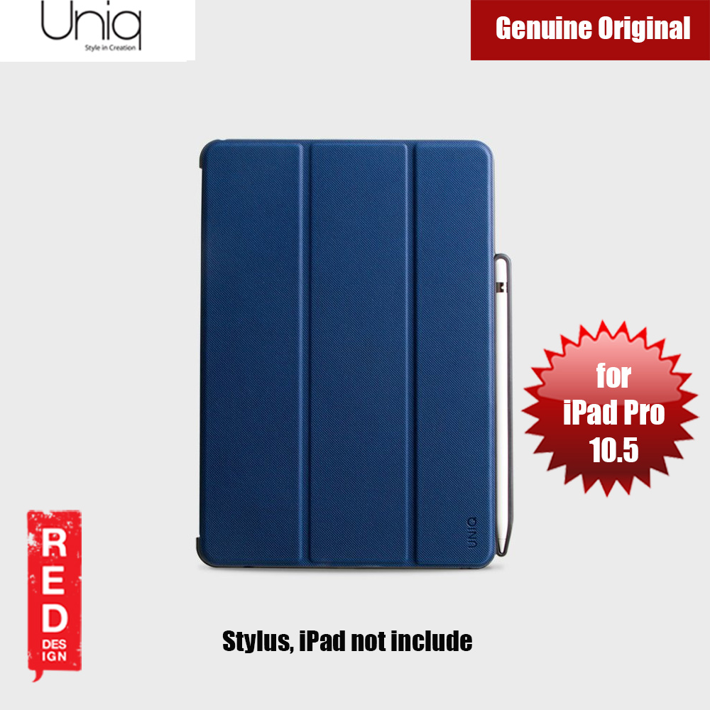 Picture of Uniq Rigor Anti Shock Impact Protection Case with Stylus Holder for Apple iPad Pro 10.5 2017 (Blue) Apple iPad Pro 10.5 2017- Apple iPad Pro 10.5 2017 Cases, Apple iPad Pro 10.5 2017 Covers, iPad Cases and a wide selection of Apple iPad Pro 10.5 2017 Accessories in Malaysia, Sabah, Sarawak and Singapore