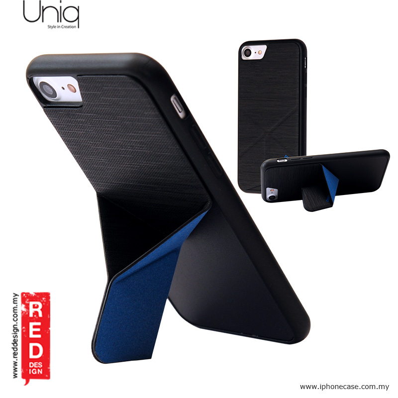 timeless design 86472 157eb Uniq Transforma Ligne Stand Case for Apple iPhone 7 iPhone 8 4.7 - Black