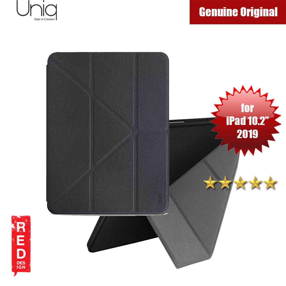 "Picture of Uniq Transforma Rigor for Apple iPad 10.2"" 2019 (Black) Apple iPad 10.2 2019- Apple iPad 10.2 2019 Cases, Apple iPad 10.2 2019 Covers, iPad Cases and a wide selection of Apple iPad 10.2 2019 Accessories in Malaysia, Sabah, Sarawak and Singapore"