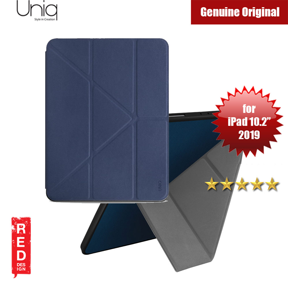 "Picture of Uniq Transforma Rigor for Apple iPad 10.2"" 2019 (Blue) Apple iPad 10.2 2019- Apple iPad 10.2 2019 Cases, Apple iPad 10.2 2019 Covers, iPad Cases and a wide selection of Apple iPad 10.2 2019 Accessories in Malaysia, Sabah, Sarawak and Singapore"