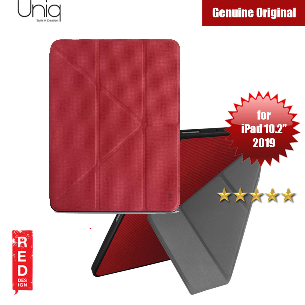 "Picture of Uniq Transforma Rigor for Apple iPad 10.2"" 2019 (Red) Apple iPad 10.2 2019- Apple iPad 10.2 2019 Cases, Apple iPad 10.2 2019 Covers, iPad Cases and a wide selection of Apple iPad 10.2 2019 Accessories in Malaysia, Sabah, Sarawak and Singapore"