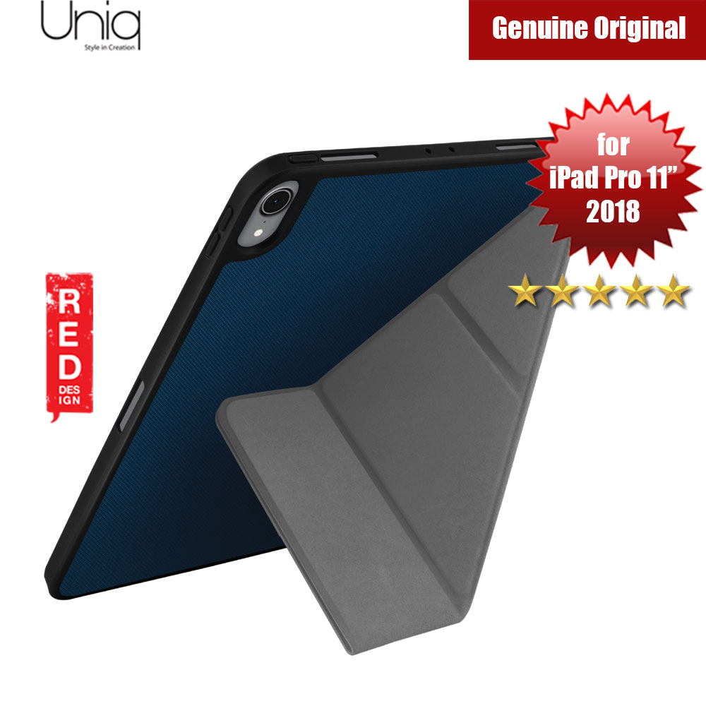 "Picture of Uniq Transforma Rigor for Apple iPad Pro 11"" 2018 (Blue) Apple iPad Pro 11.0 2018- Apple iPad Pro 11.0 2018 Cases, Apple iPad Pro 11.0 2018 Covers, iPad Cases and a wide selection of Apple iPad Pro 11.0 2018 Accessories in Malaysia, Sabah, Sarawak and Singapore"