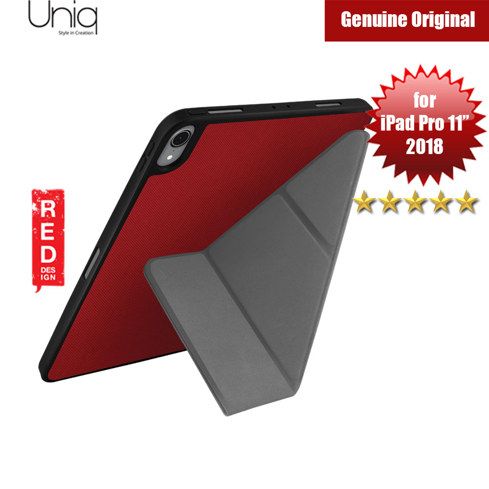 "Picture of Uniq Transforma Rigor for Apple iPad Pro 11"" 2018 (Red) Apple iPad Pro 11.0 2018- Apple iPad Pro 11.0 2018 Cases, Apple iPad Pro 11.0 2018 Covers, iPad Cases and a wide selection of Apple iPad Pro 11.0 2018 Accessories in Malaysia, Sabah, Sarawak and Singapore"