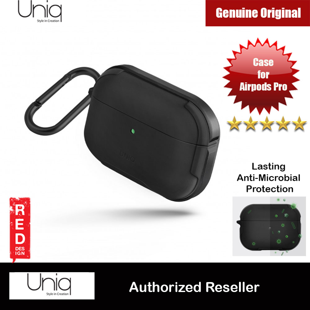Picture of Uniq Valencia Drop Protection TPU and Sleek Aluminium Case with Reinforced Aluminium Carabiner for Airpods Pro (Grey) Apple Airpods Pro- Apple Airpods Pro Cases, Apple Airpods Pro Covers, iPad Cases and a wide selection of Apple Airpods Pro Accessories in Malaysia, Sabah, Sarawak and Singapore